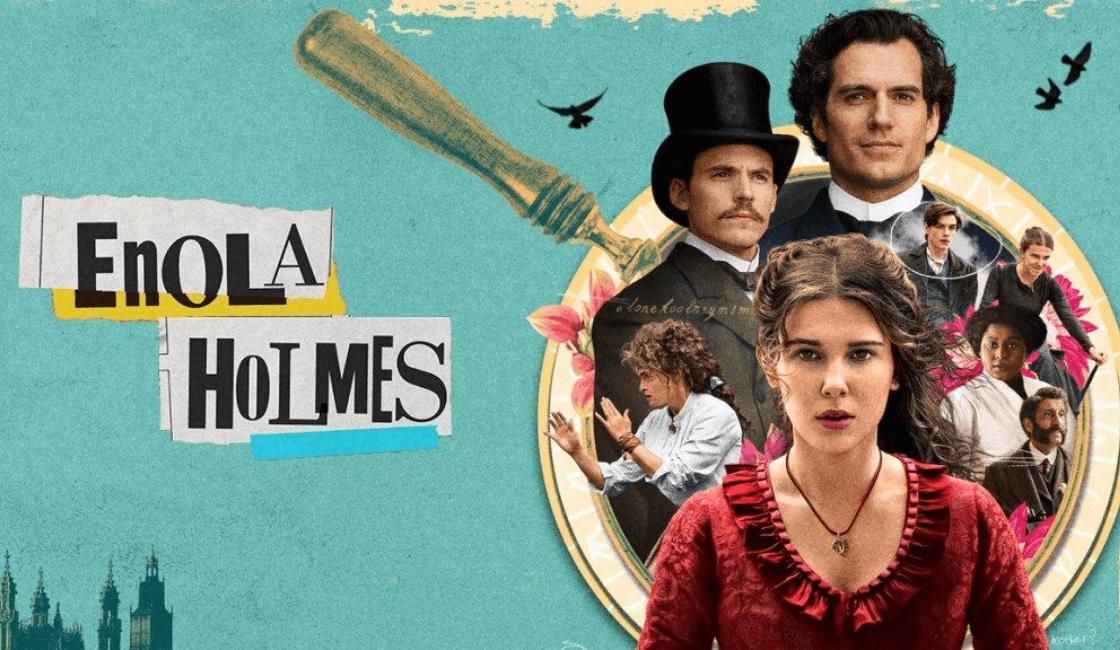 enola holmes entre las peliculas en Netflix