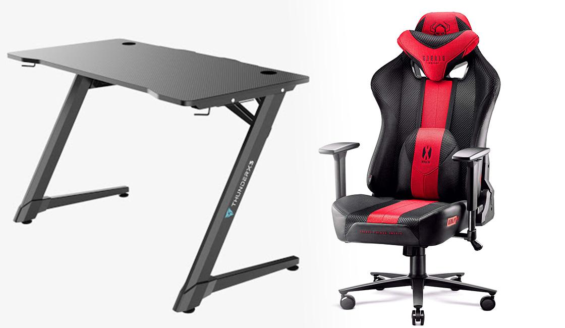 ThunderX3 ED3 y Diablo X-Player 2.0 escritorios y sillas para gamer