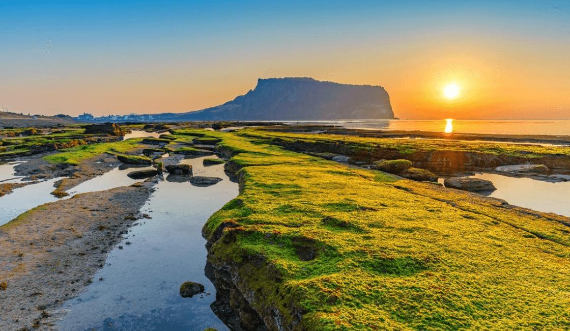Isla Jeju Corea del Sur Entre los mejores lugares del mundo para enamorarse