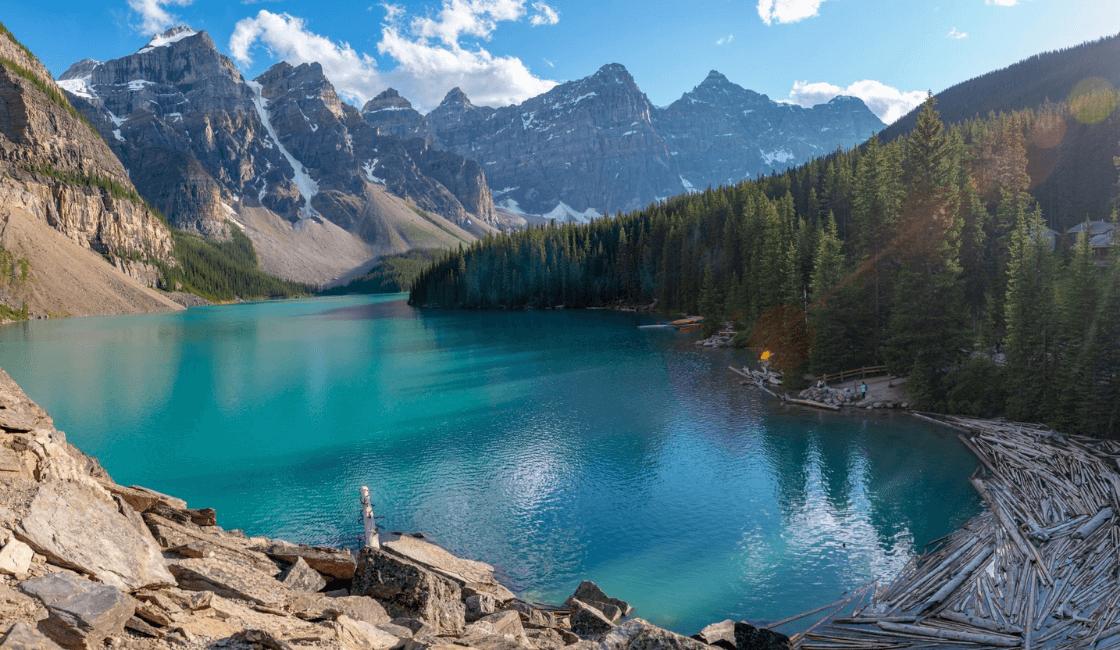 Lago Moraine Canada los mejores lugares del mundo por su belleza