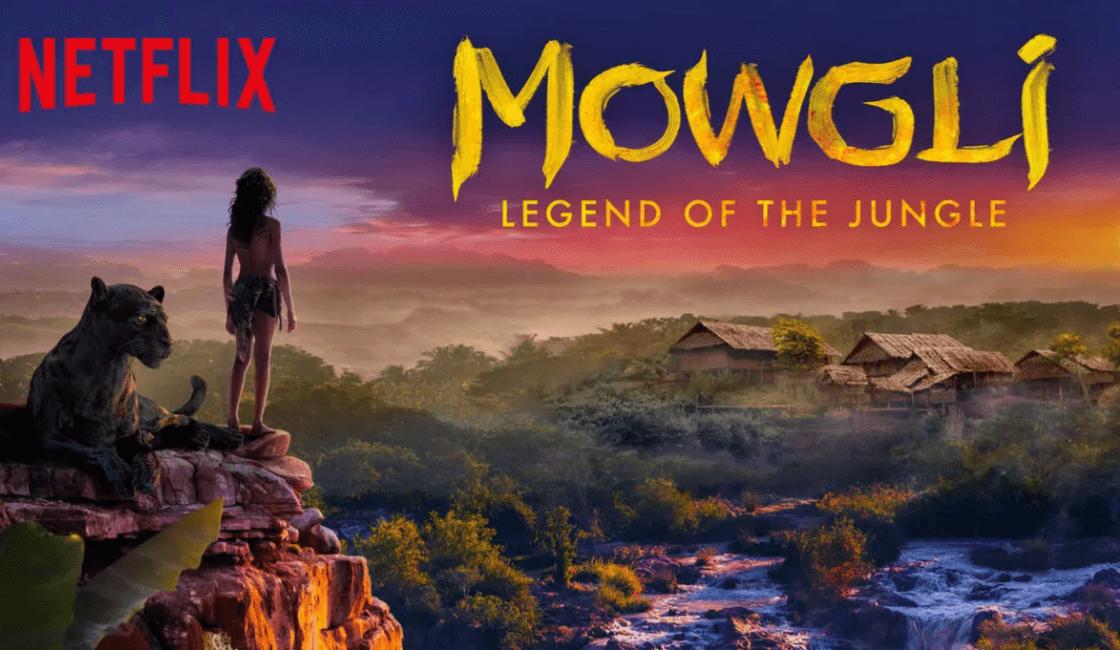 mowgli entre la películas en Netflix