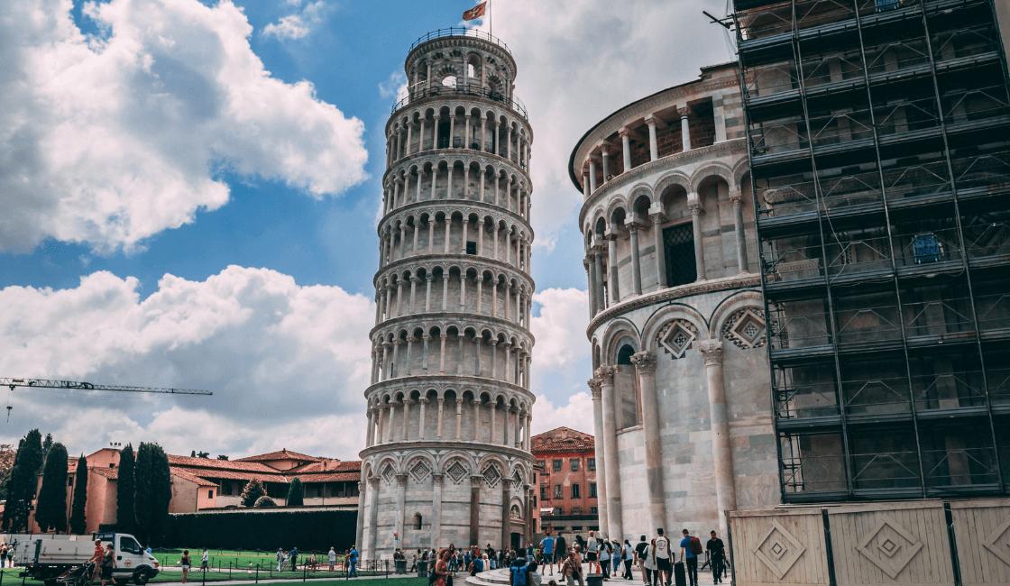 Torre de Pisa Italia unos de los mejores lugares turísticos del mundo