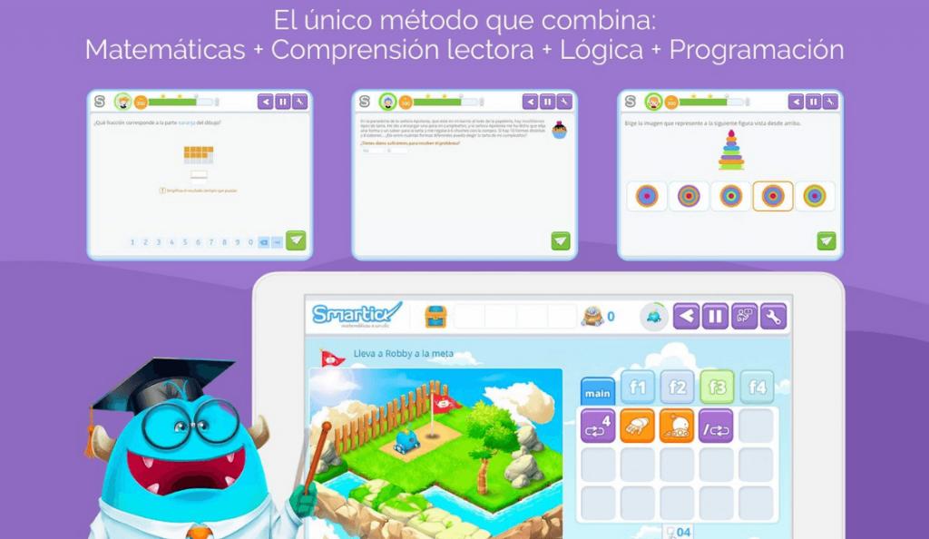 Smartick cdestaca entre las aplicaciones para aprender matemáticas