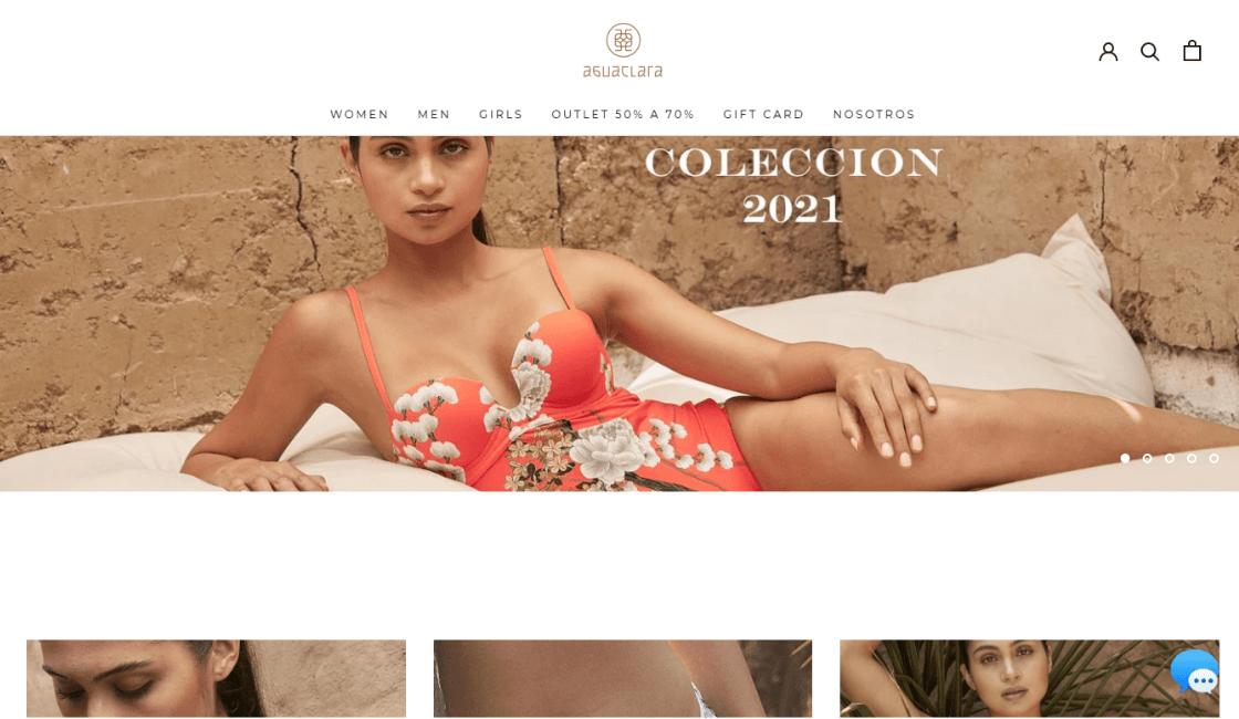 aguaclara popular entre las marcas peruanas de bikinis