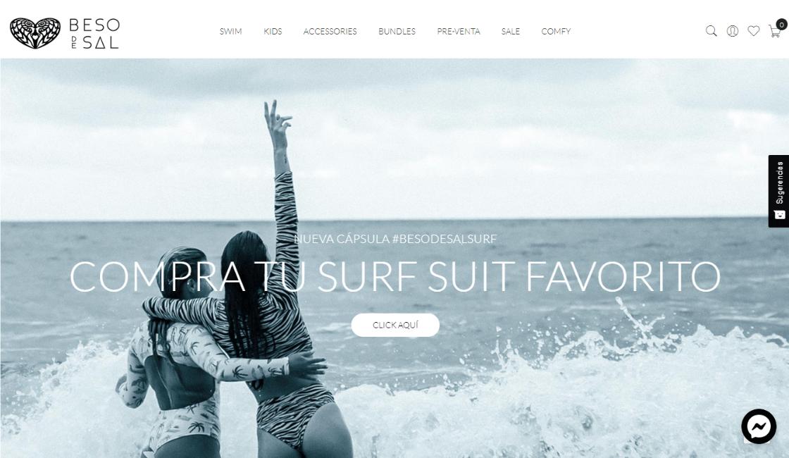 beso de sal entre las marcas peruanas de bikinis