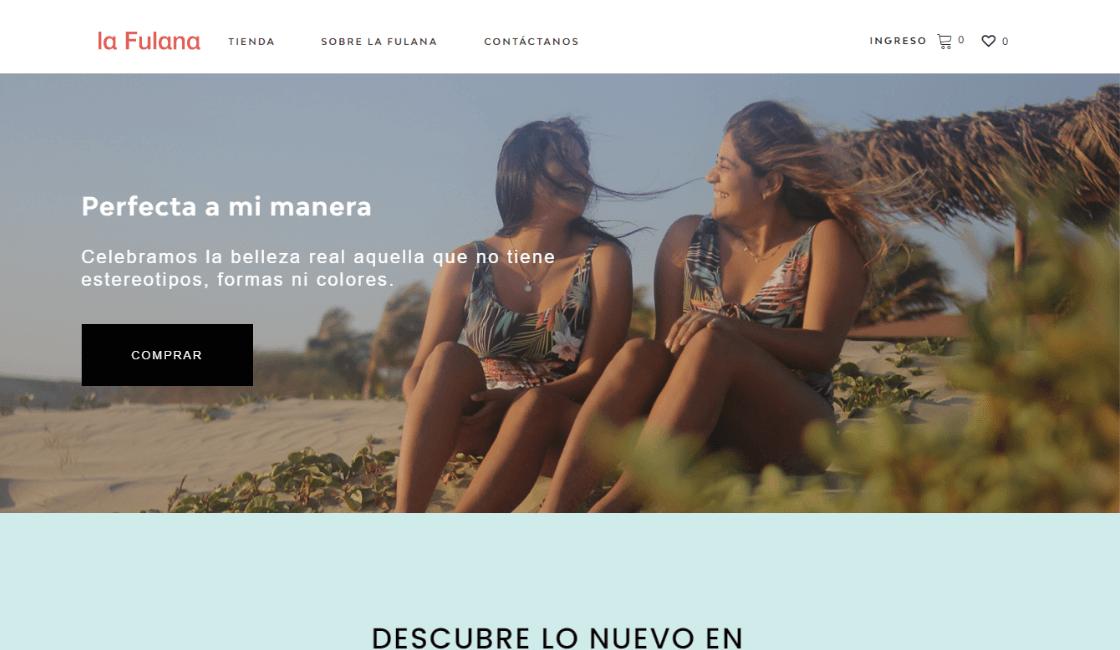 la fulana entre las marcas peruanas de bikinis