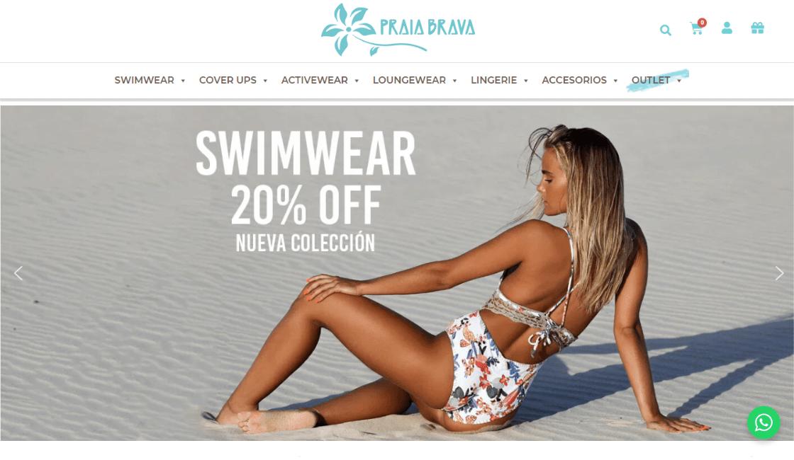 Praia brava una de las marcas peruanas de bikinis