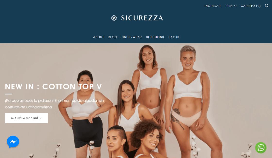 sicurezza entre las marcas peruanas de bikinis