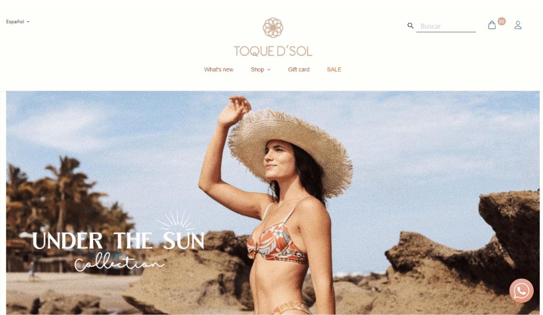 toque d sol destacada entre las marcas peruanas de bikinis