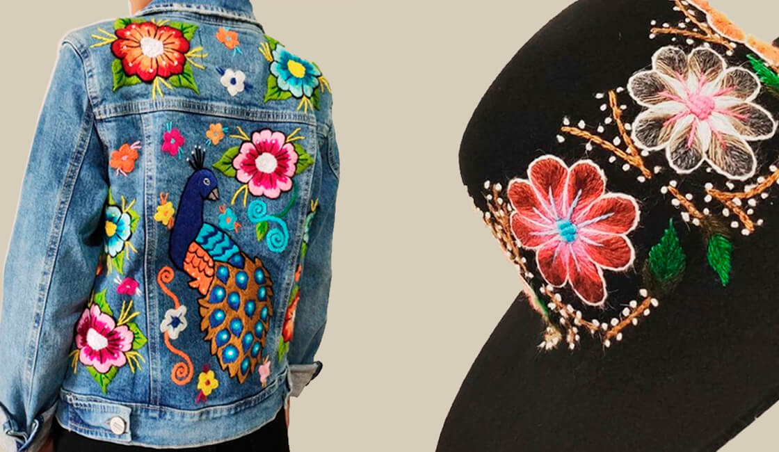 Marcas de Ropa con Propósito Social KEROMI casacas bordadas