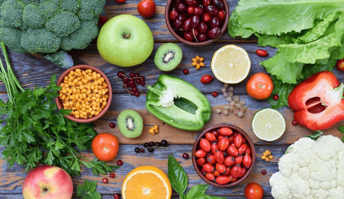 orgánicas verduras y frutas