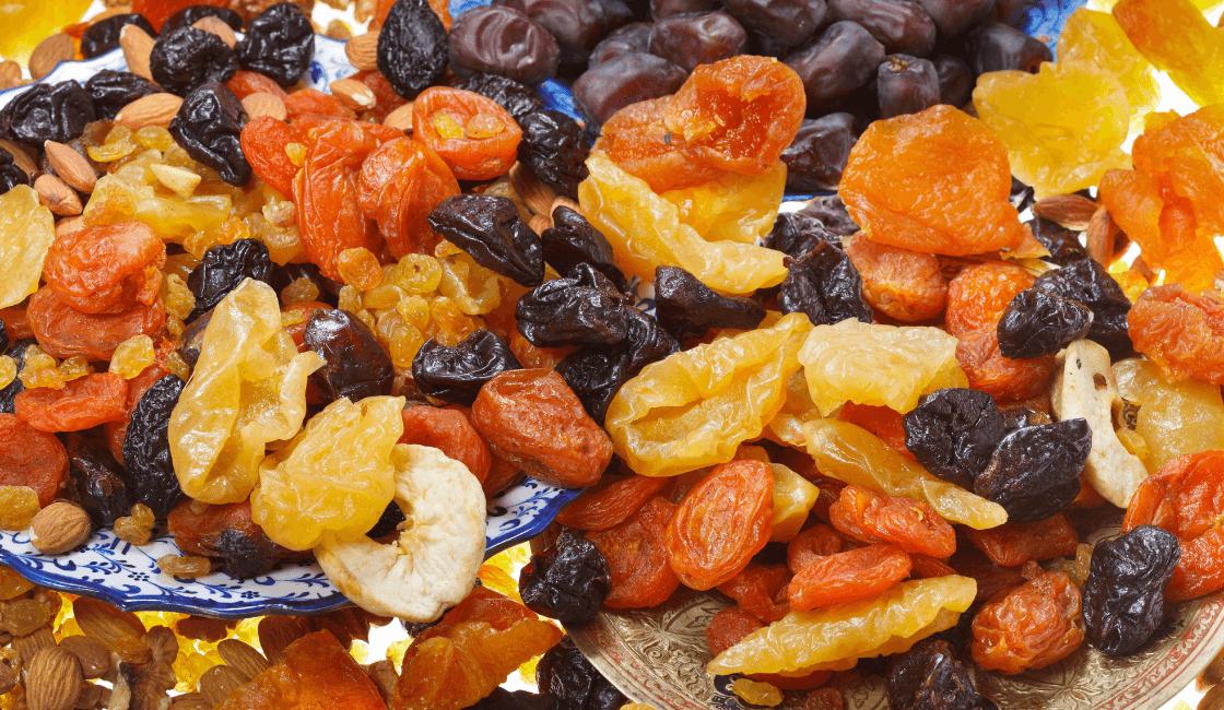 frutas secas para fortalecer el sistema inmunológico en los niños
