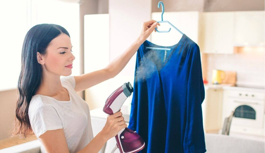 Vaporizador portátil artículo útil para remover las arrugas de la ropa