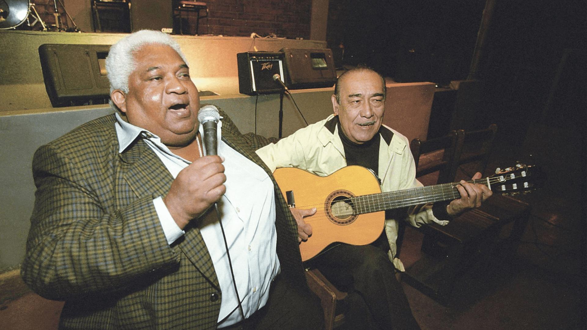 zambo cavero como uno de los representantes de la música criolla