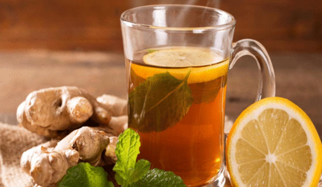 receta de hierbas y jengibre alimentos para limpiar pulmones