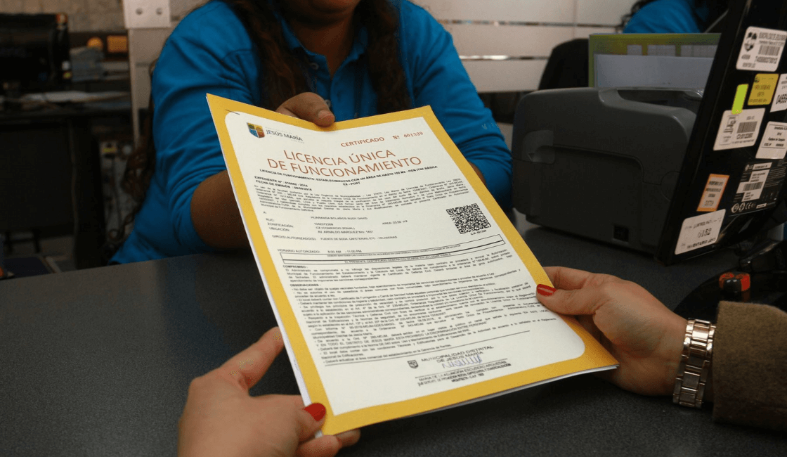 licencia de funcionamiento en lima Perú