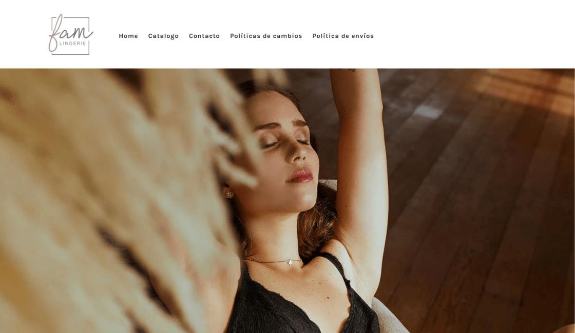 Fam Lingerie: Ropa interior conocida por sus piezas elegantes