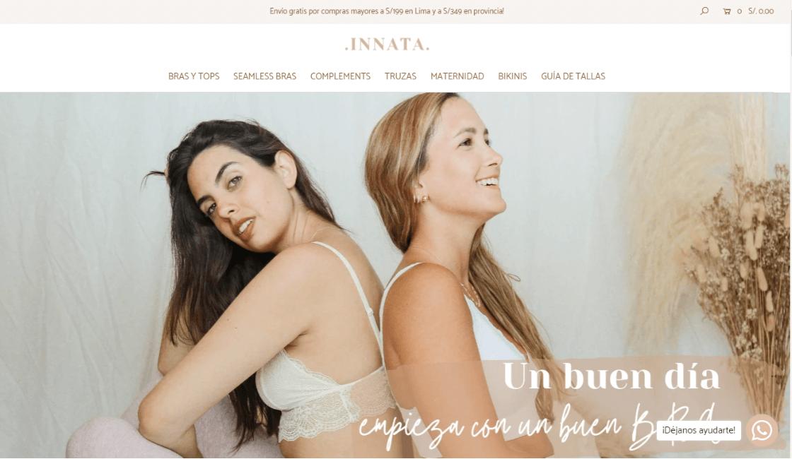 Innata: Entre las marcas de ropa interior peruana más femeninas