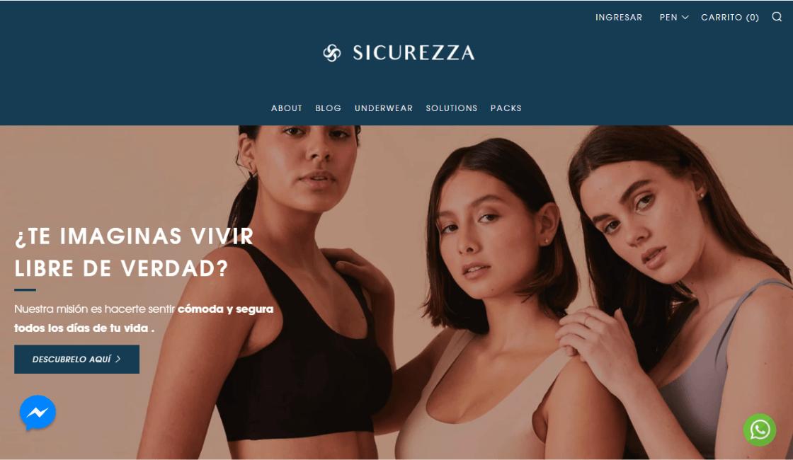 Sicurezza: Destacada marca de ropa interior body positive