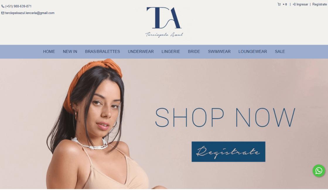 Terciopelo Azul: Entre las mejores marcas de ropa interior peruana por productos de alta calidad