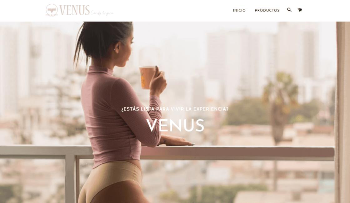 Venus marca de lencería en Perú