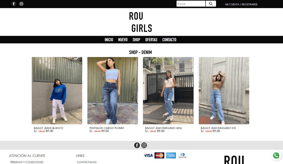 website de rou girls peru