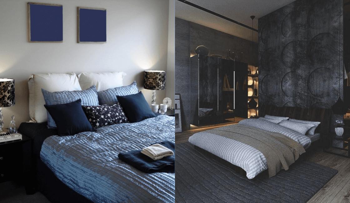 Qué colores para dormitorio suele utilizar un hombre