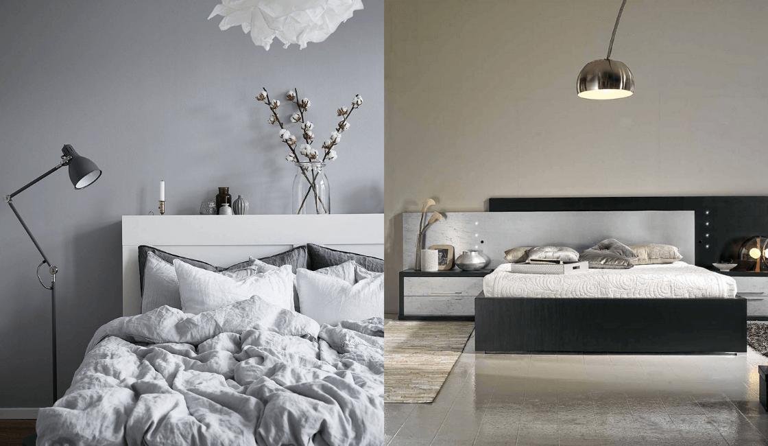 Dormitorios color gris o negro_ Brinda dormitorios modernos