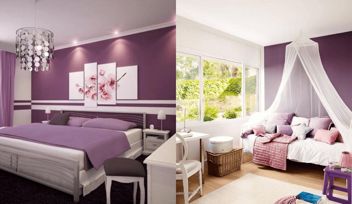 Dormitorios color morado_ Entre las tendencias 2021