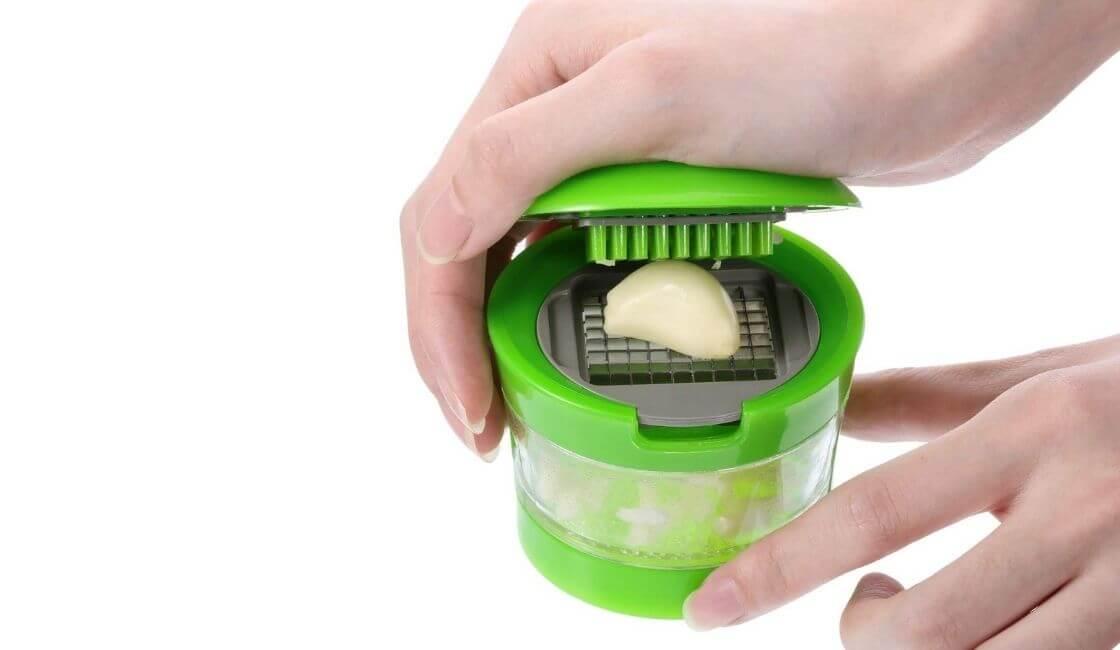 cortador de ajos