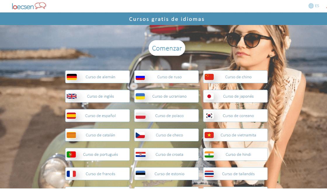 loecsen entre los cursos gratis de portugués