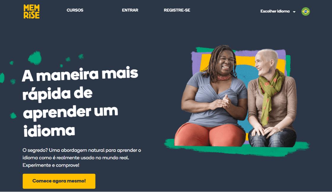 menrise entre los cursos gratis de portugués