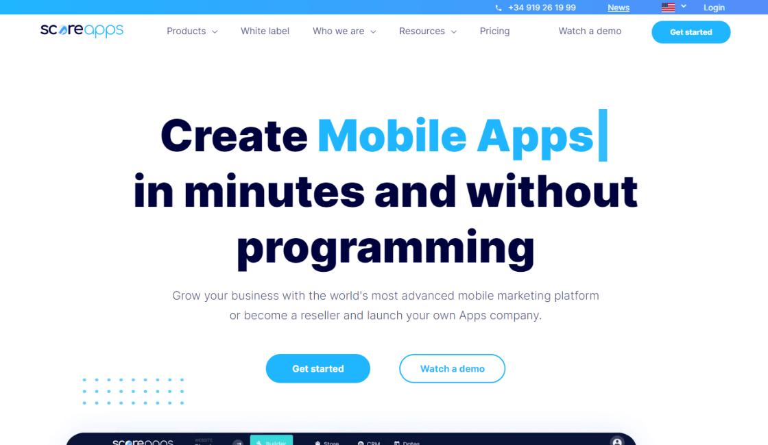 score app plataforma resaltante