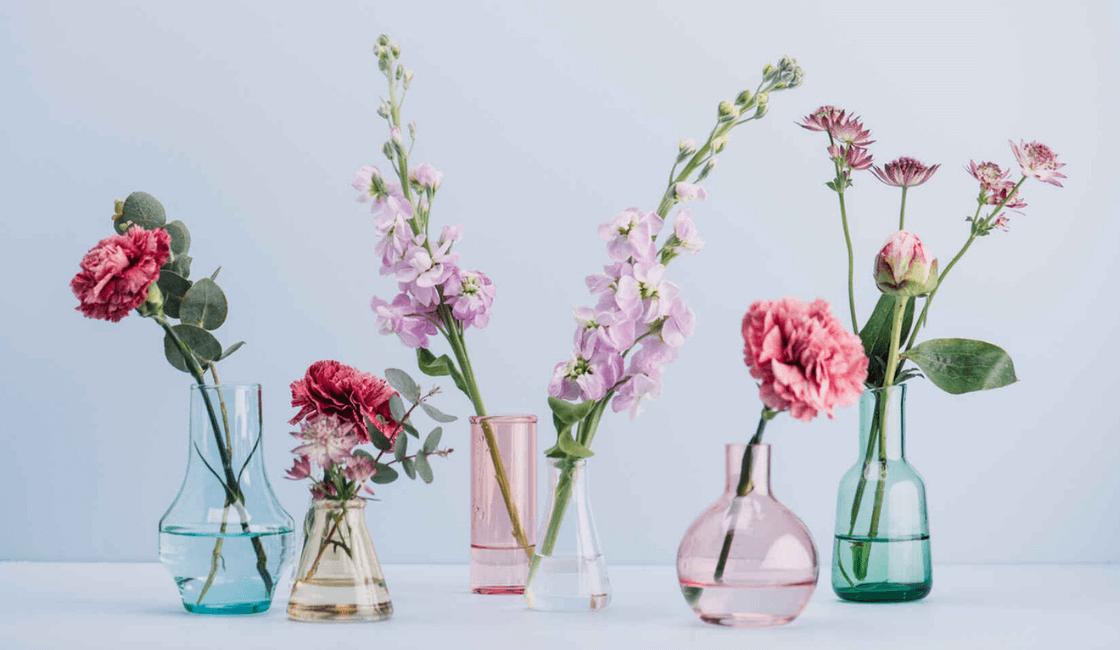 floreros entre las manualidades para vender