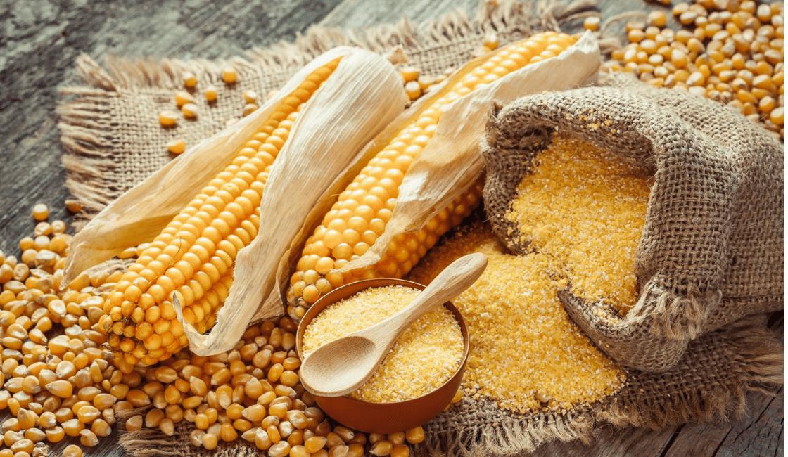 harina de maiz entre las formas de quitar manchas